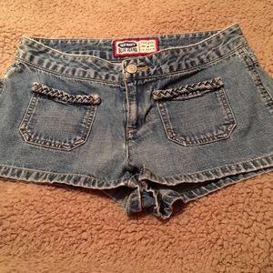 Old Navy Denim Shorts Sz 2-Adorable Front Pockets